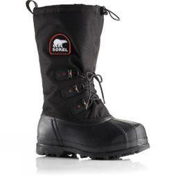 Sorel Mens Glacier XT Boot Black/Red Quartz
