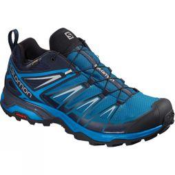 Salomon Mens X-Ultra 3 GTX Shoe Mykonos Blue/Indigo Bunting/Pearl Blue