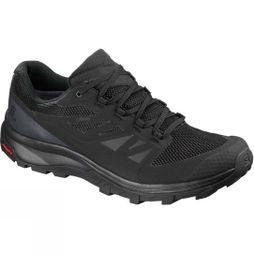 Salomon Mens Outline GTX Shoe Black/Phantom/Magnet