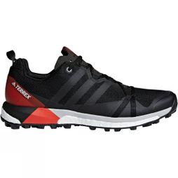 Adidas Mens Terrex Agravic Shoe Core Black/Carbon/Hi-Res Red