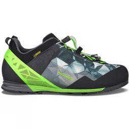 Lowa Mens Approach Pro GTX Lo Shoe Anthracite / Lime