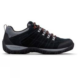 Columbia Mens PEAKFREAK VENTURE S II Waterproof Shoe Black/ Dark Adobe