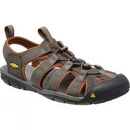 Keen Mens Clearwater CNX Sandal Raven/Tortoise Shell