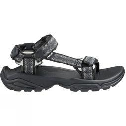 Teva Mens Terra Fi 4 Sandal Cross Terra Black