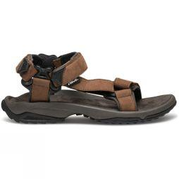 Teva Mens Terra FI Lite Leather Sandal Brown