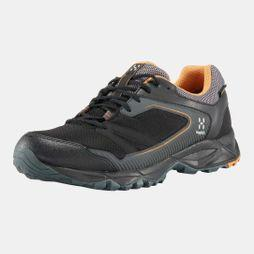 Haglofs Mens Trail Fuse GT Shoe True Black / Desert Yellow