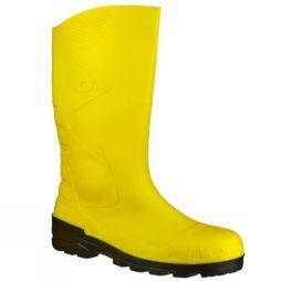 Dunlop Devon Welly Yellow Ye/blk