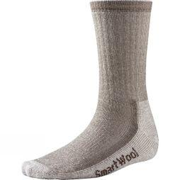SmartWool Mens Hiking Medium Crew Socks Taupe