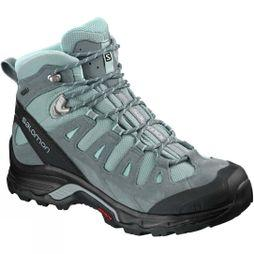 Salomon Womens Quest Prime GTX Boot Lead/Stormy Weather/Eggshell Blue