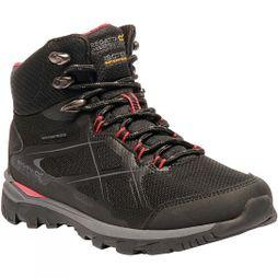 Regatta Womens Kota Mid Boot Black/Rosebud