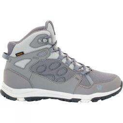 Jack Wolfskin Womens Activate Texapore Mid Boot Tarmac Grey