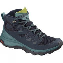 Salomon Womens Outline Mid GTX Boot Navy Blazer/Hydro