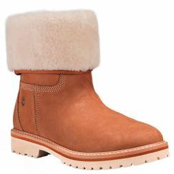 Timberland Womens Chamonix Valley WP Fold Down Boot Rust