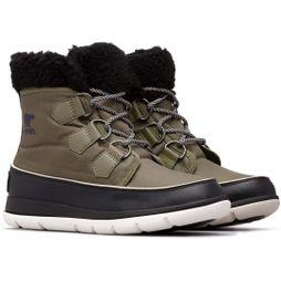 Sorel Womens Explorer Carnival Boot Hiker Green/Black