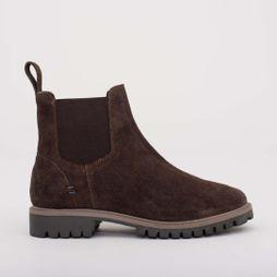 Womens Suede Chelsea Boot