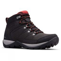 Columbia FIRE VENTURE L MID II Waterproof Hiking Boot Black/ Daredevil