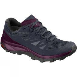 Salomon Womens Outline GTX Shoe Graphite/Potent Purple