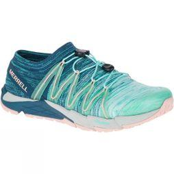 Merrell Womens Bare Access Flex Knit Shoe Aqua