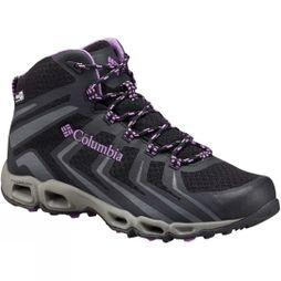 Columbia Womens Ventrailia 3 Mid OutDry Shoe Black/Crown Jewel