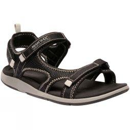 Regatta Womens Ad-Flo Sandal Black/Light Steel