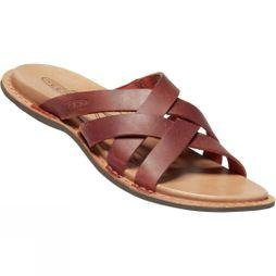 Keen Womens Sofia Slide Leather Mule Sandal Picante/Mulch