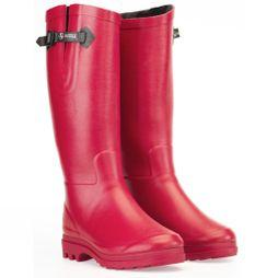 Womens Aiglentine Fur Welly