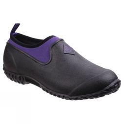 Muck Boot Womens Muckster II Low Shoe Black / Purple