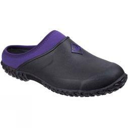 Muck Boot Womens Muckster II Gardening Clog Black/Purple