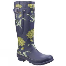 Cotswold Womens Windsor Print Welly Flower