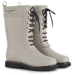 Ilse Jacobsen Womens Classic Mid Lace Up Boot Atmosphere