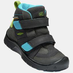 Keen Kids Hikeport Mid Strap Waterproof Boot Magnet/Greenery