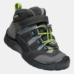 Keen Kids Hikeport Mid Waterproof Boot Magnet/Greenery