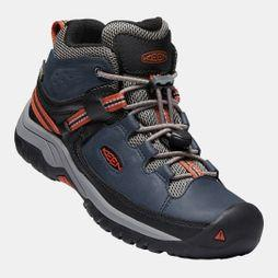 Keen Boys Targhee Mid WP Boot Blue Nights/Rooibos Tea