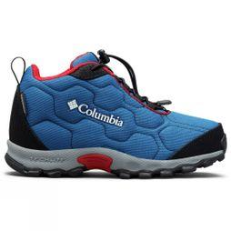 Columbia Youth FIRECAMP MID 2 Waterproof Shoe Royal/ Rocket