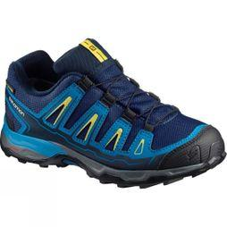 Salomon Kids X-Ultra GTX Shoe Blue Depths/Cloisonné/Blazing Yellow