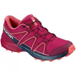 Salomon Childrens Speedcross Shoe Cerise/Navy Blazer/Dubarry