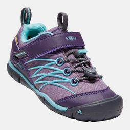 Keen Kids Chandler CNX Waterproof Shoe Montana Grape / Aqua Haze