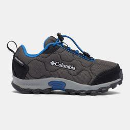 Columbia Children's Firecamp Sledder 3 Waterproof Shoe Dark Grey/ Royal