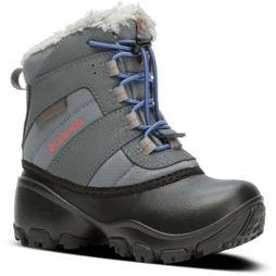 Columbia Girls Rope Tow III Waterproof Boot Ti Grey Steel/ Red Canyon