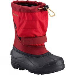Columbia Boys Powderbug Plus II Boot Mountain Red / Maple
