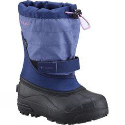 Columbia Boys Powderbug Plus II Boot Eve / Northern Lights