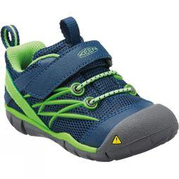 Keen Toddlers Chandler CNX Shoe Poseidon / Jasmine Green