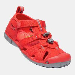 Keen Youth Seacamp II CNX Sandal Fiery Red