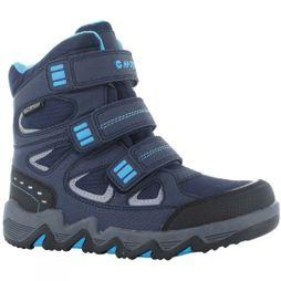 Hi-Tec Boys Thunder Snow Boot Navy/Turquiose Black