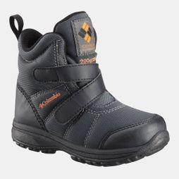Columbia Boys Fairbanks Boot Graphite/ Heatwave