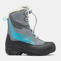 Columbia Boys Bugaboot Plus Iv Omni-Heat Boot Ti Grey Steel/ Pacific Rim