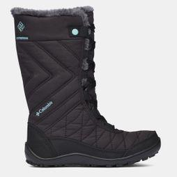 Columbia Boys Youth Minx Mid Iii Wp Omni-Heat Boot Black/ Iceberg