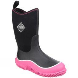 Muck Boot Kids Hale Boot Black / Pink