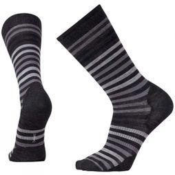 SmartWool Mens Spruce Street Crew Socks Charcoal Heather