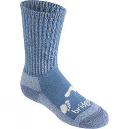 Bridgedale Junior Merino Comfort Sock Storm Blue